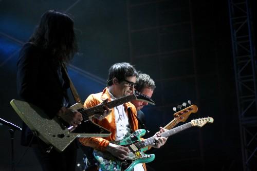 Weezer -- Brian Bell, Rivers Cuomo, Scott Shriner